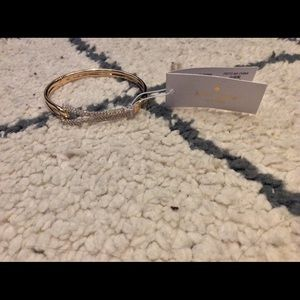 NWT Kate Spade infinity gold bracelet